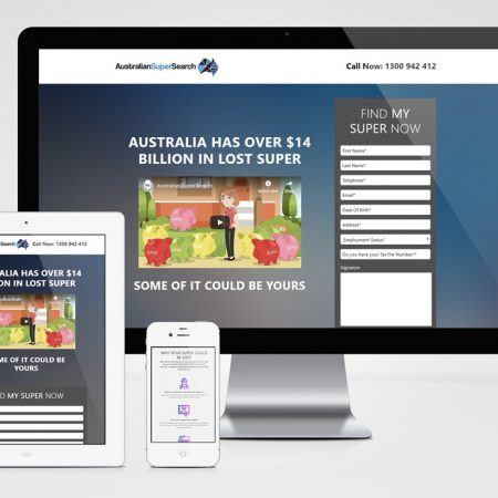 Landing Page - Australian Super Search