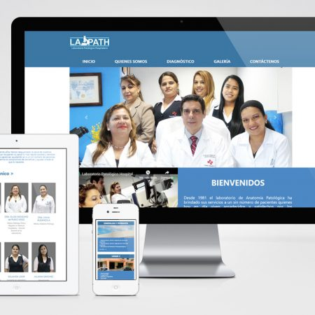 Sitio Web - LabPath
