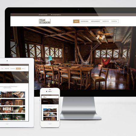Sitio Web - TEAK Madera