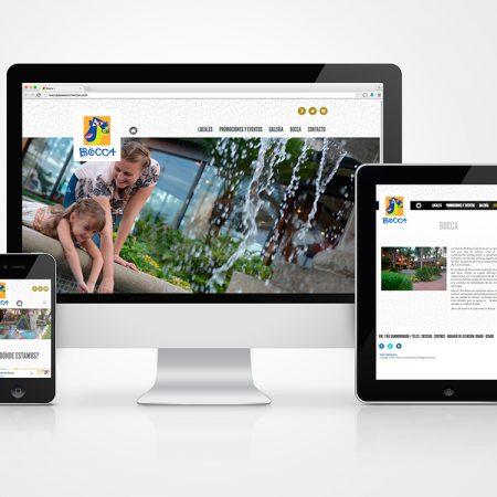 Sitio Web - Paseo BOCCA