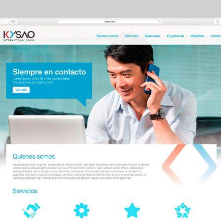 Sitio Web - Kysao