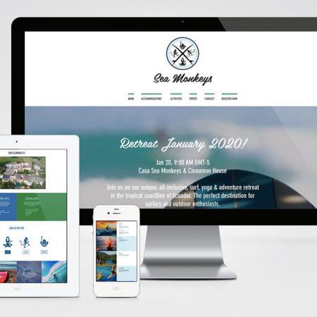 Sitio Web - Sea Monkeys